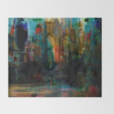 A moment in your city Throw Blanket