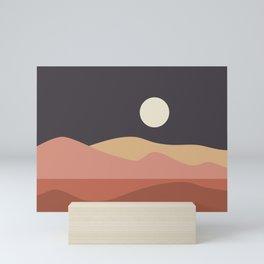 Geometric Landscape 23B Mini Art Print