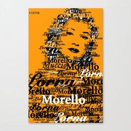 Lorna Morello (Yael Stone) OITNB Canvas Print
