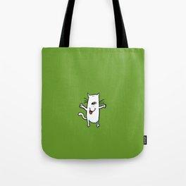 Hot Diggity Cat Tote Bag