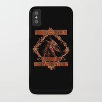 kitsune iPhone & iPod Cases featuring Kitsune by Carlo Spaziani
