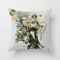 Quickdraw Throw Pillow