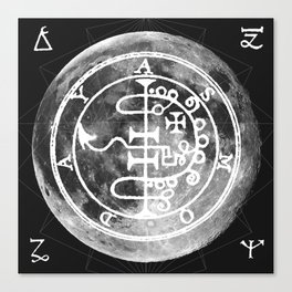 The Witches Moon Canvas Print