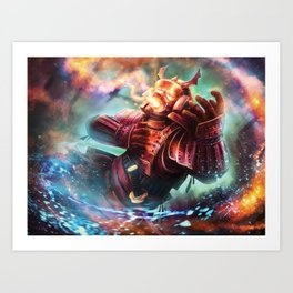 Undone by the Enlightened Art Print