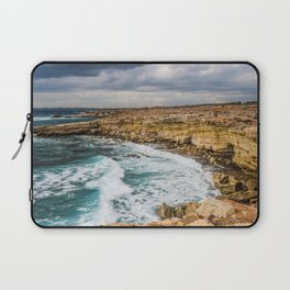 Sea Cliffs Laptop Sleeve