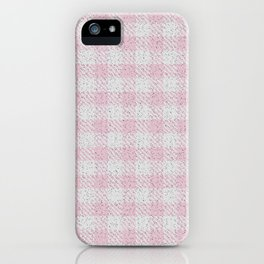 Pink Buffalo Plaid iPhone Case