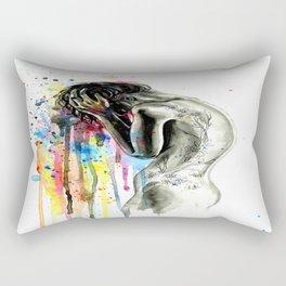 Overflowing emotion Rectangular Pillow