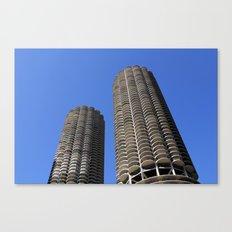 marina city // wilco towers Canvas Print