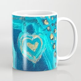 Florida Teal Love Coffee Mug