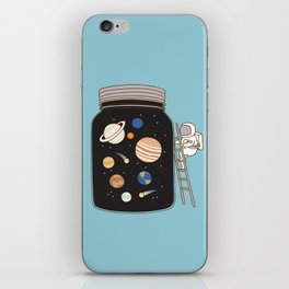 confined space iPhone Skin
