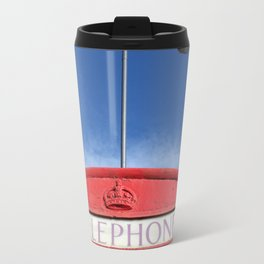 british telephone booth Travel Mug