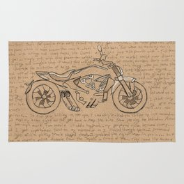 Motorcycle Rug