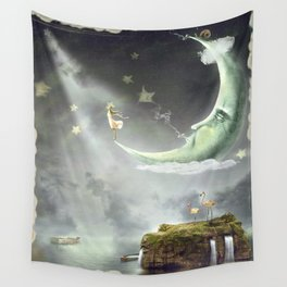 Night. Time of miracles and magic Wall Tapestry