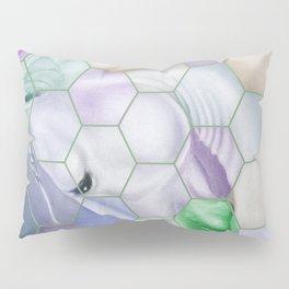 Rainbow Lusitano Mosaic Tiled Art Pillow Sham