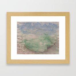 Informal texture two Framed Art Print