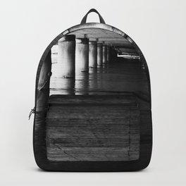 Under the bridge 3 black & white Backpack