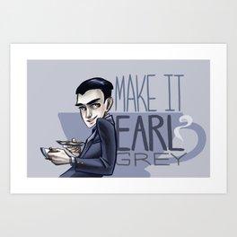 Make it Earl Grey- Artemis Fowl Art Print