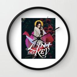 lana album del rey 2021 katrin9 Wall Clock
