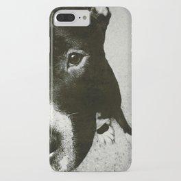 Half a PitBull iPhone Case