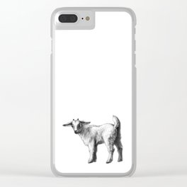 Goat baby G147 Clear iPhone Case