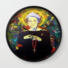 Juan Carlos I as Bernarda Alba. Homage to Federico Garcia Lorca Wall Clock