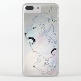 Morphed wishes Clear iPhone Case