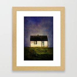 Folk House Framed Art Print