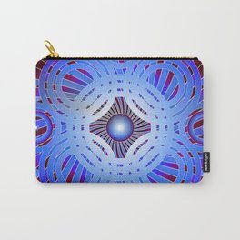 Abstract Circles Pattern Carry-All Pouch