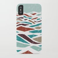 pool iPhone & iPod Cases featuring Sea Recollection by Efi Tolia