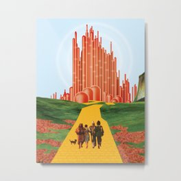 For A Better Future, Live In A Red State Metal Print