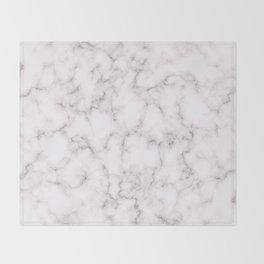 Elegant Marble1 Throw Blanket