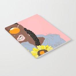 Believe in Yo Juice - Digital Black Goddess Vector Drawing Notebook