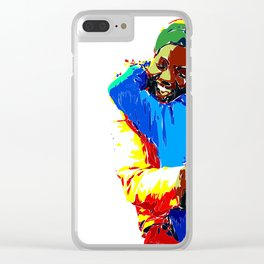 Africa Love Clear iPhone Case