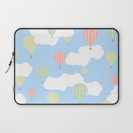 Hot Air Balloon In the Sky Laptop Sleeve
