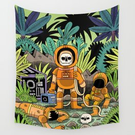 Lost contact Wall Tapestry