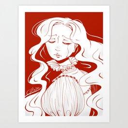 Beware of Crimson Peak Art Print