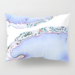Iridescent agate Pillow Sham