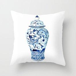 GINGER JAR NO 7  Throw Pillow