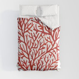 Red Coral Comforters
