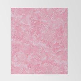 Rosy Scales Marble Texture Throw Blanket
