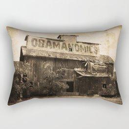 Obamanomics Rectangular Pillow