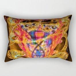 """Twin Flames"" Rectangular Pillow"