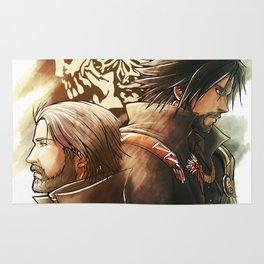 King and Prince ( Final fantasy XV ) Rug
