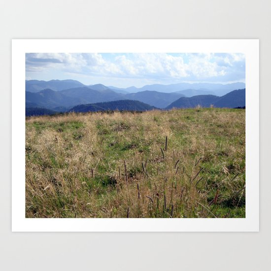 Mountaintop Art Print