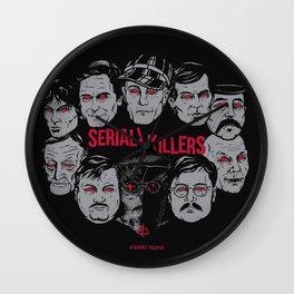 Möribundo Clothing - Serial Killers Wall Clock