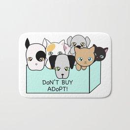 Adopt, don't shop! Bath Mat