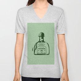 Patron Tequila Pop Art Unisex V-Neck