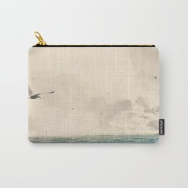 Seagulls in Flight Carry-All Pouch