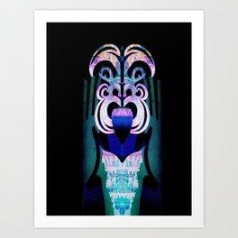 Maori tongues Art Print