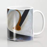 tote bag Mugs featuring Gracie's Got a Brand New Bag! by Bob Benenson Photo Art